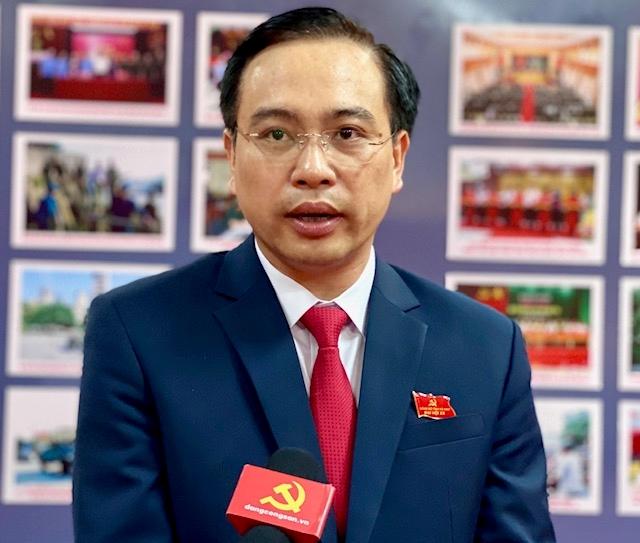 Đồng chí Trương Quốc Huy, Phó Bí thư Tỉnh ủy Hà Nam