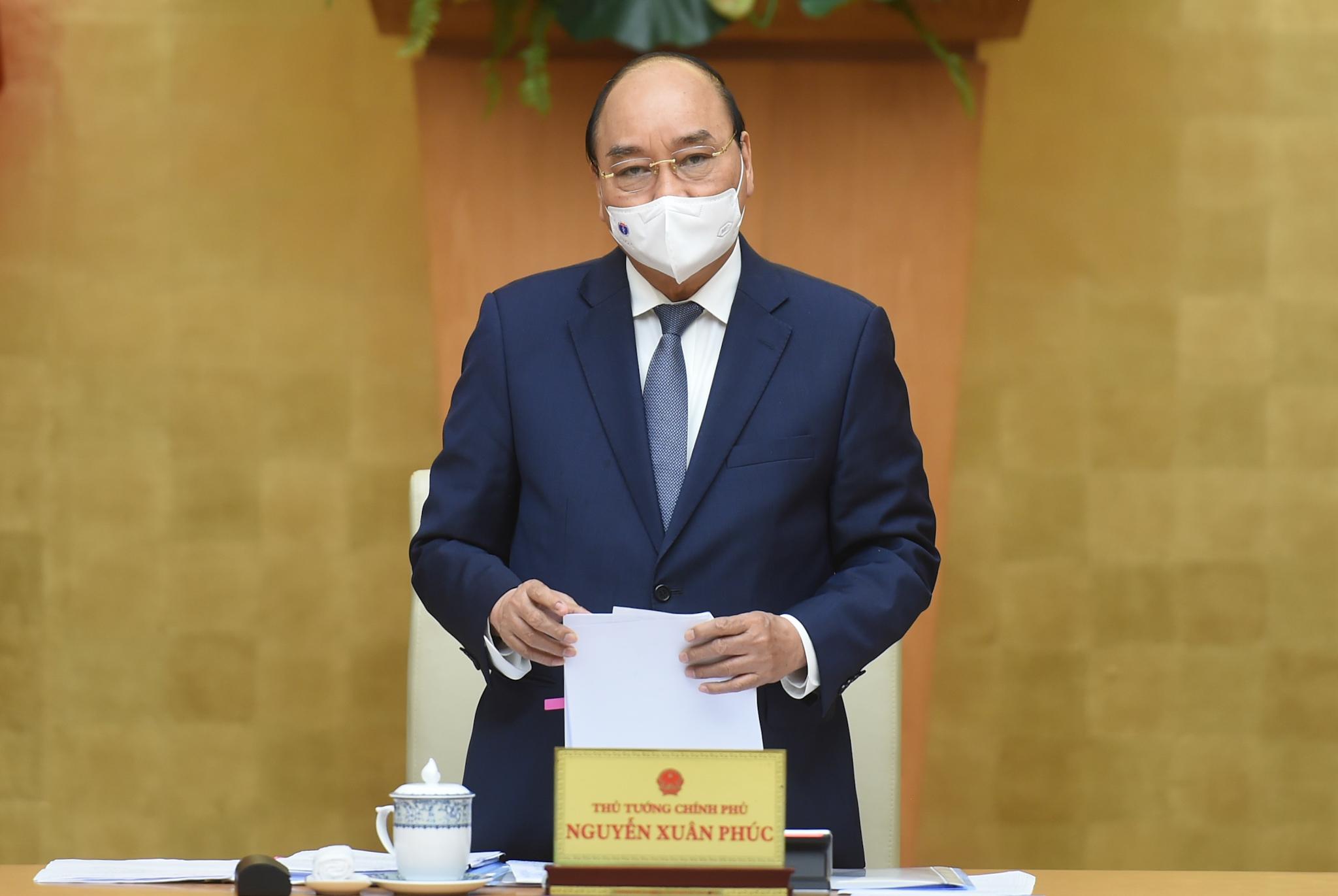 Thủ tướng Nguyễn Xuân Phúc kết luận cuộc họp