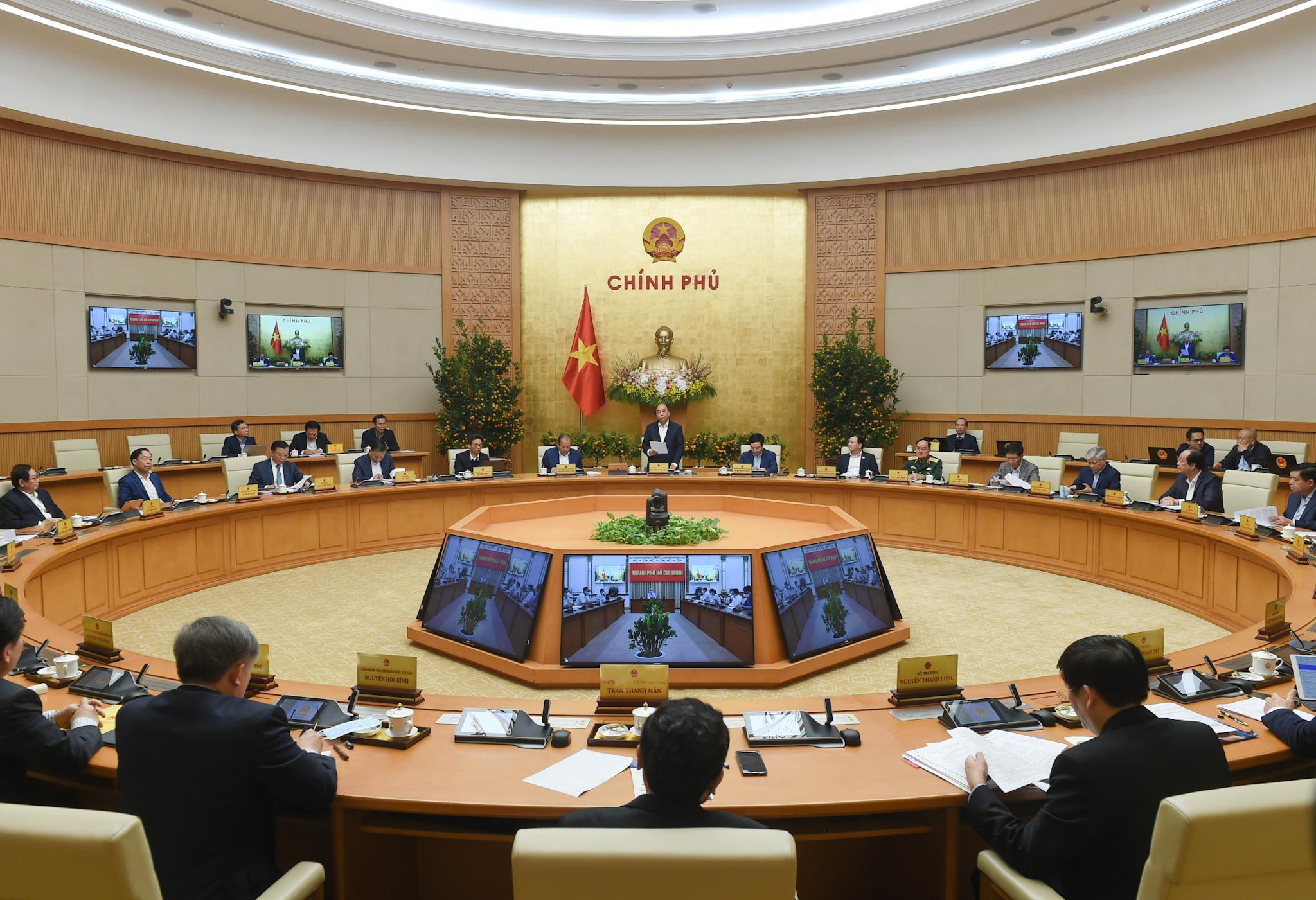 Phiên họp Chính phủ thường kỳ tháng 01/2021