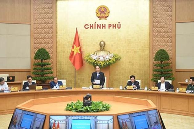 Thủ tướng Nguyễn Xuân Phúc kết luận phiên họp Chính phủ thường kỳ tháng 3 năm 2021